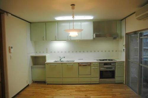 清潔感あるキッチンに