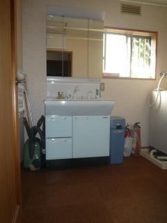 脱衣室・洗面改修工事